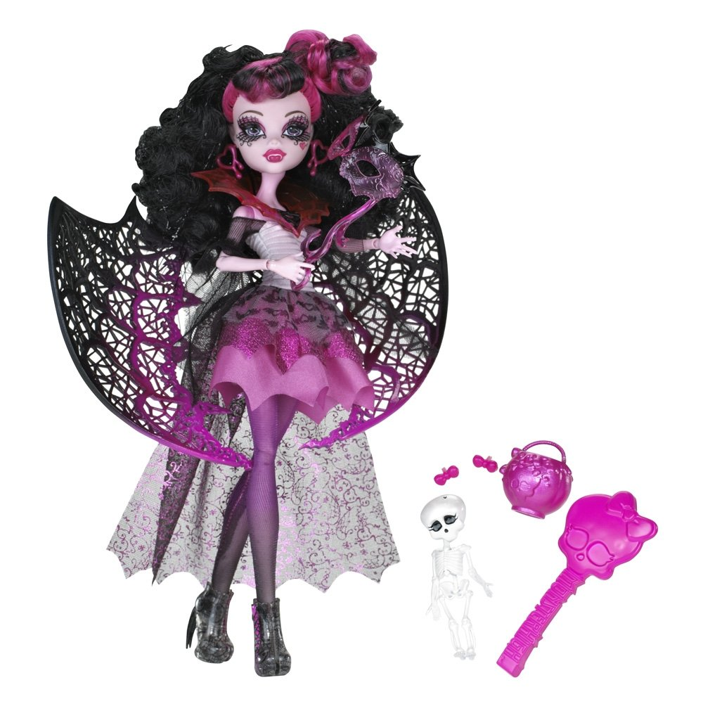 Monster High Ghouls Rule Dolls - Draculaura Halloween Costume [X3716]  sc 1 st  House of Aberrant & Monster High Ghouls Rule Dolls - Draculaura Halloween Costume ...